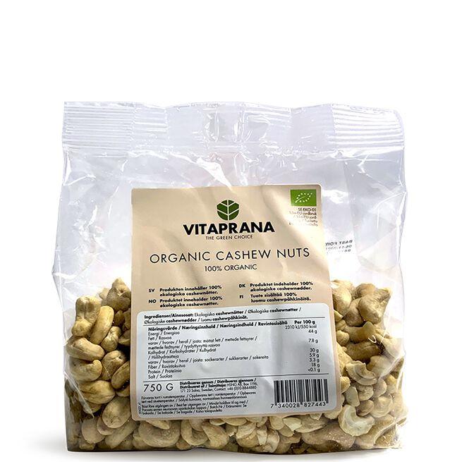 Organic Cashew Nuts, 750g