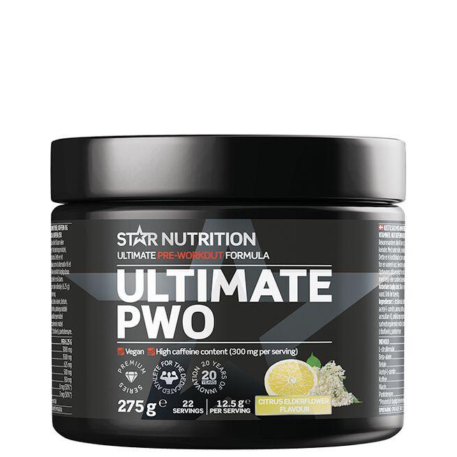 Ultimate PWO, Citrus Elderflavour, 275 g
