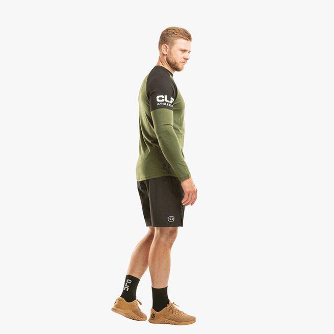 CLN Yoke Bamboo Shirt, Forrest Green, L