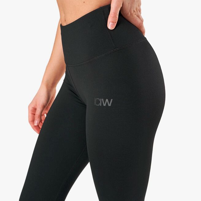 ICIW Classic High Waist Tights Black