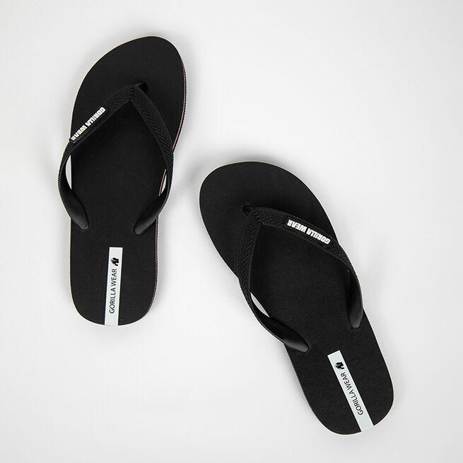 Kokomo Flip-Flops, Black, 36