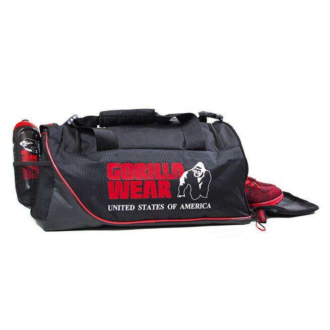 Jerome Gym Bag, Black/Red