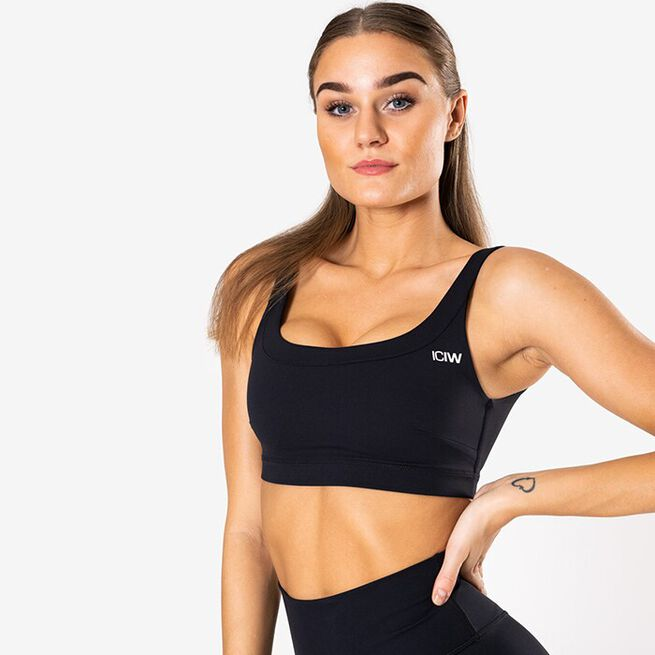 Nimble Sports Bra, Black, L