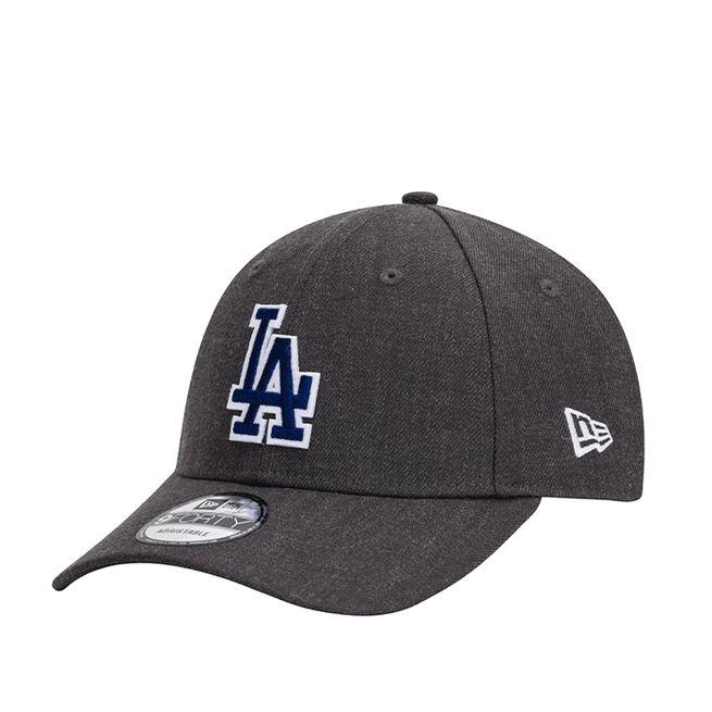New Era 940 Heather Twill Los Angeles Dodgers, Graphite