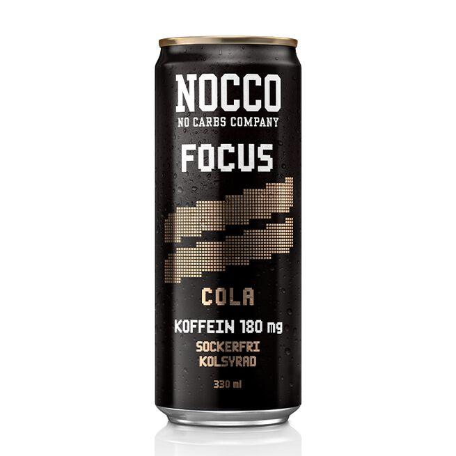 NOCCO FOCUS, 330 ml, Cola, Norge