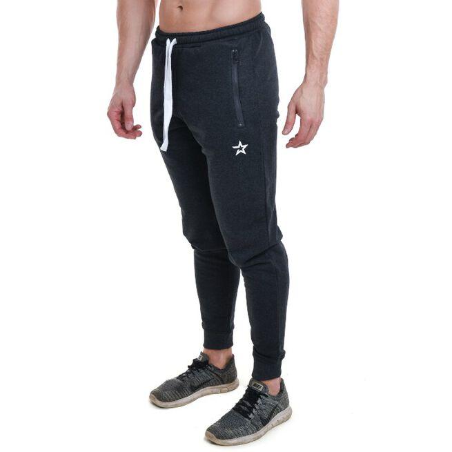 Star Nutrition Tapered Pants, Dark Grey Melange, M