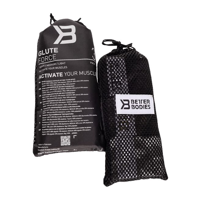 Better Bodies Glute force 3 pack Camo Combo