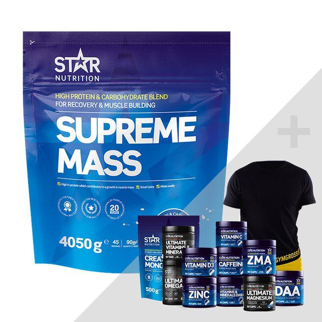 Star Nutrition Supreme mass bonus product