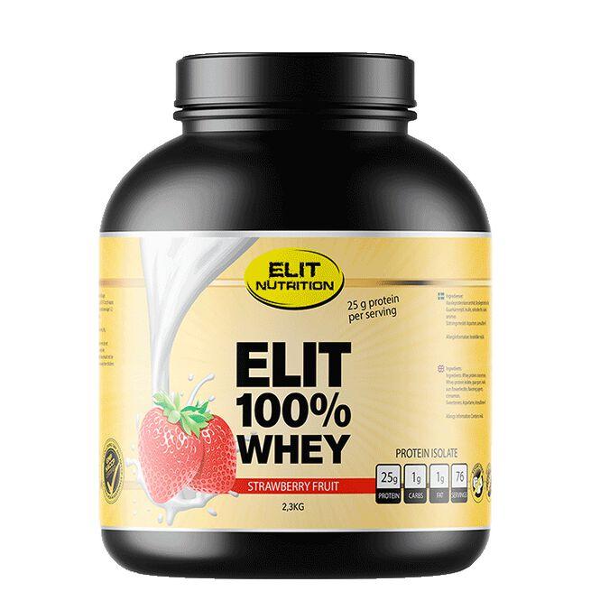 ELIT 100% Whey, 2300 g, Strawberry Fruit