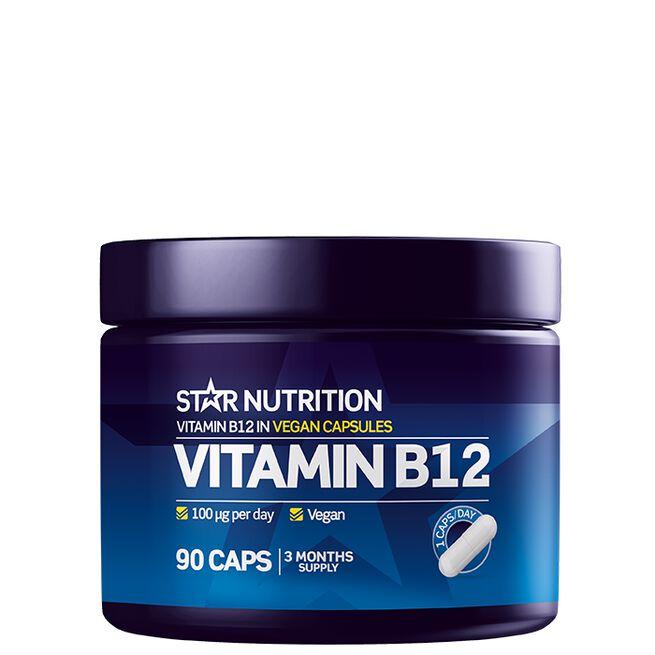 Star nutrition Vitamin B12 vegan