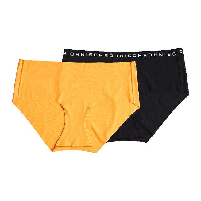Siena 2-Pack Hipster, Neon Orange, M