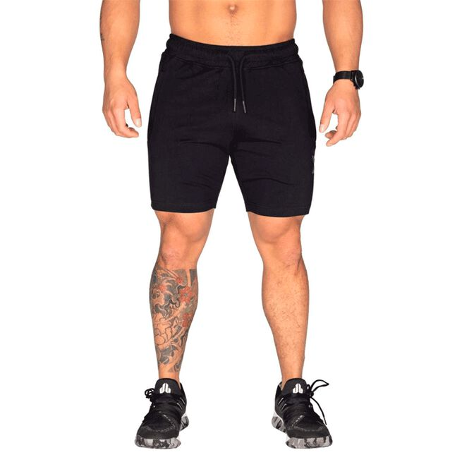 Better Bodies Men Tapered Sweatshorts, Black