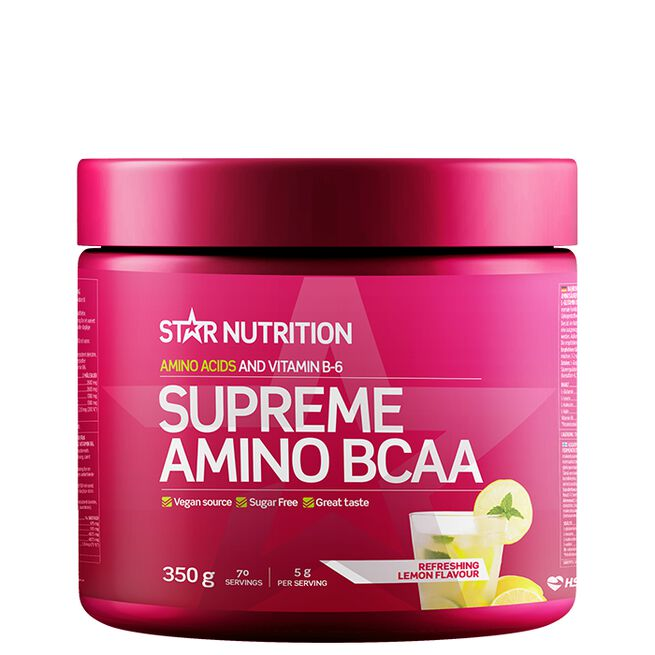 Star nutrition Supreme Amino BCAA 350g Refreshing lemon