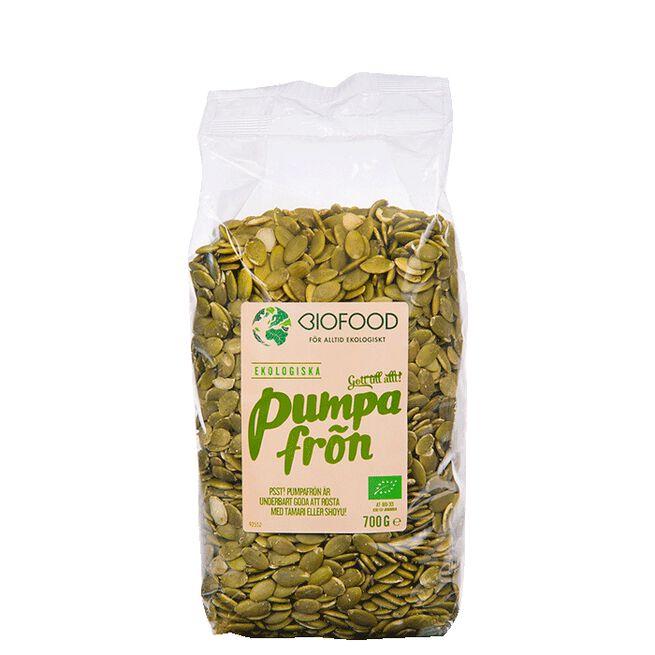 Pumpafrön, 700 g Biofood