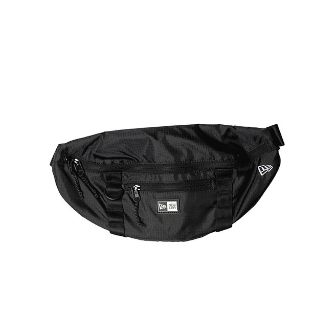 new era waist bag light black