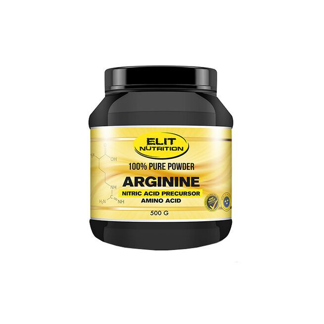 ELIT 100% Pure Powder L-arginine, Neutral, 500 g