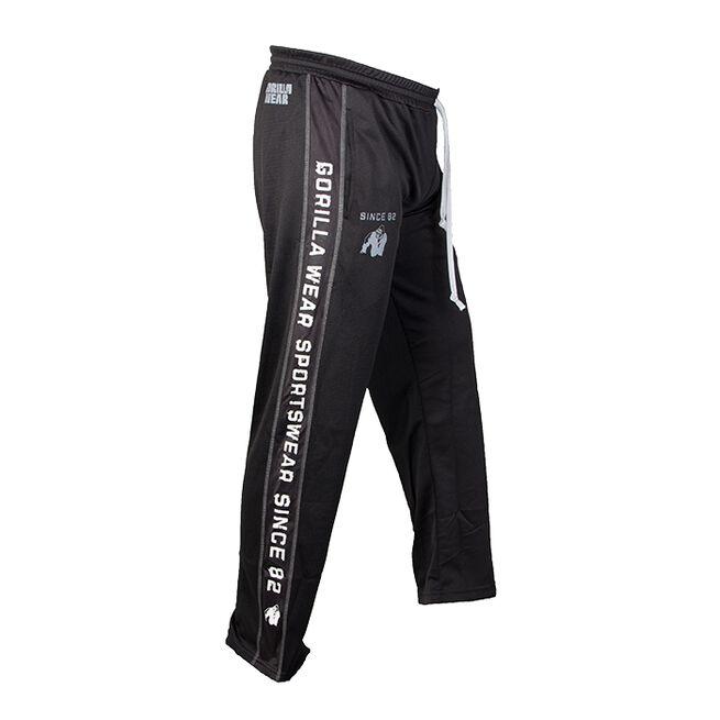 Functional Mesh Pants, Black/White, S/M