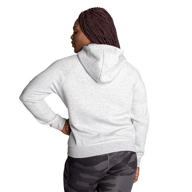 Better Bodies Core Zip Hoodie White Melange