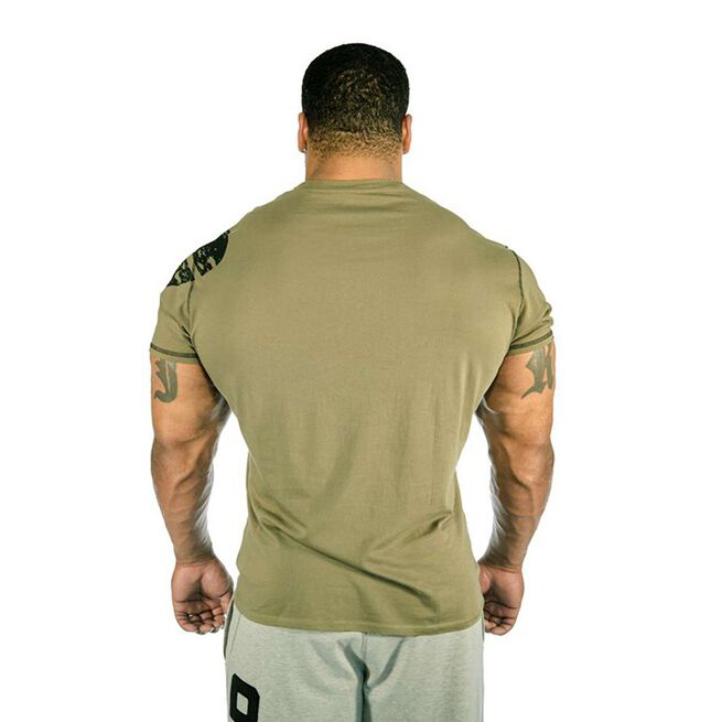 Gasp Tee, Washed Green, M