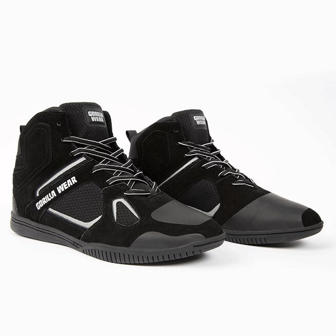 Troy High Tops, Black/Grey, 37