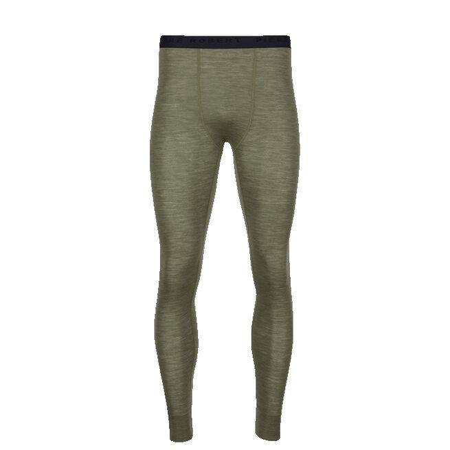 Sport Wool Longs Men, Khaki, S