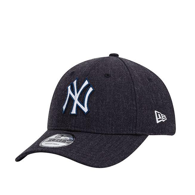 New Era 940 Heather Twill New York Yankees, Navy