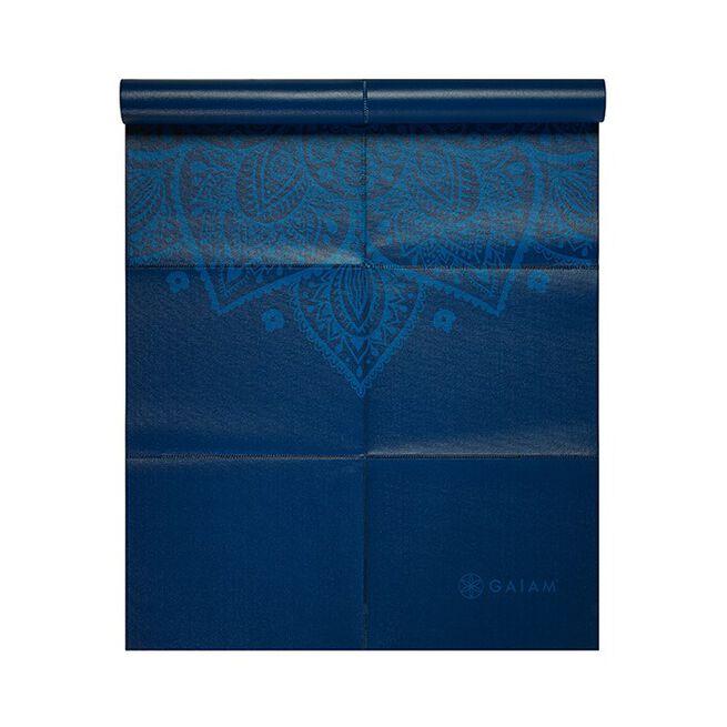 Foldable Blue Sundial Yoga Mat