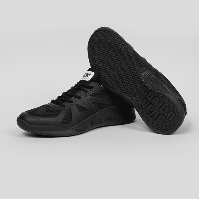 Gorilla Wear Gym Hybrids, Black/Black, 36