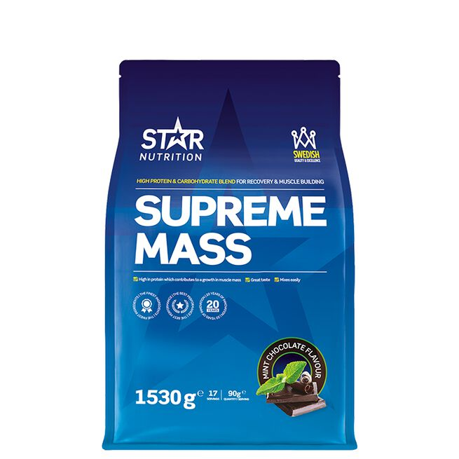 Star nutrition Supreme mass Mint chocolate