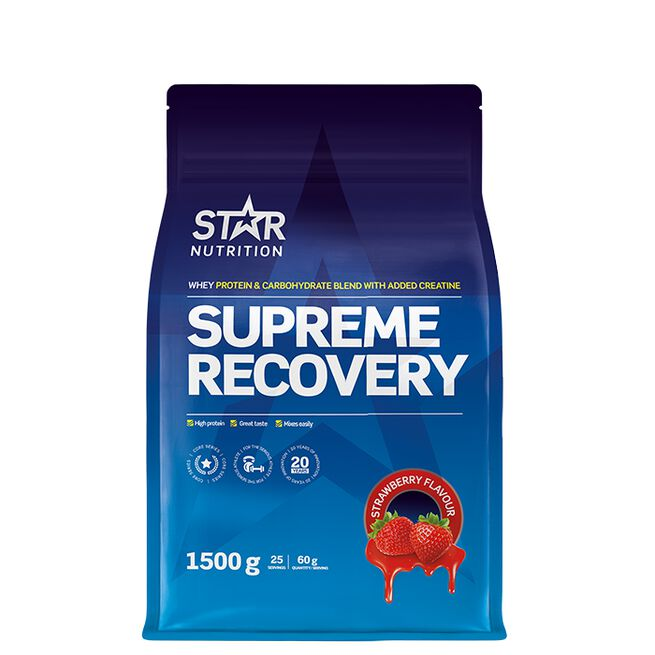 Star Nutrition Supreme Recovery Strawberry
