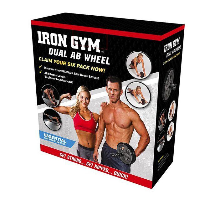 Iron Gym Dual Ab Wheel