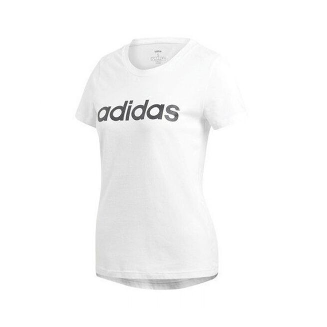 ADIDAS ESSENTIAL SLIM TEE white