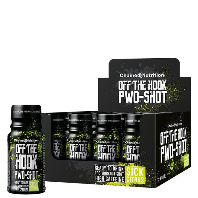 12 x Off The Hook PWO-Shot, 60 ml, Sick Citrus