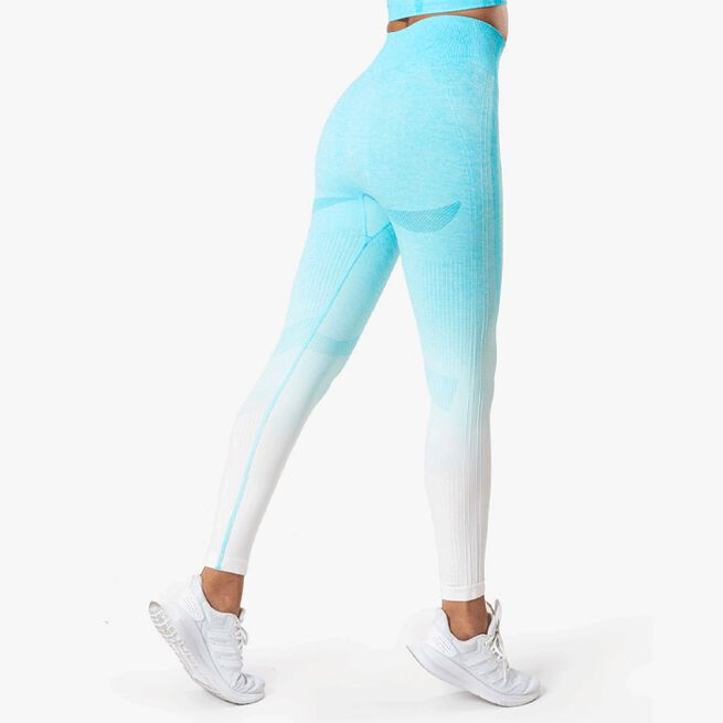 ICIW Ombre 7/8 Seamless Tights Ocean Blue