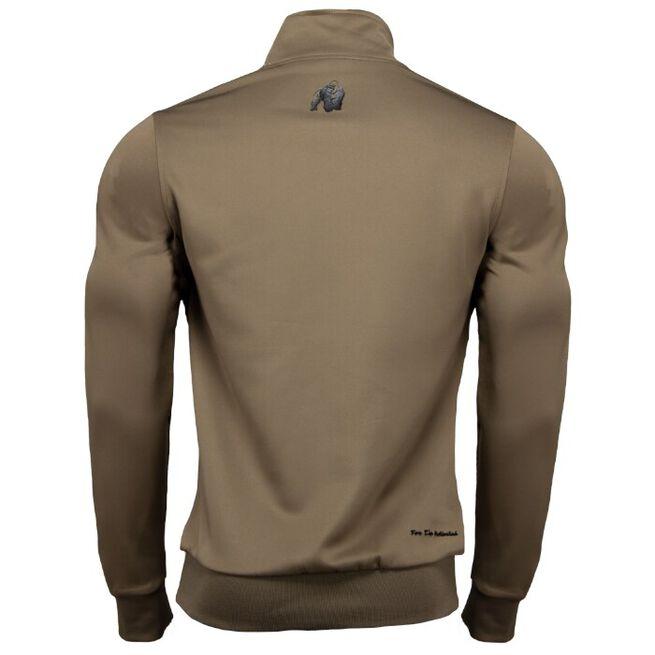 Wellington Track Jacket, Olive Green, M