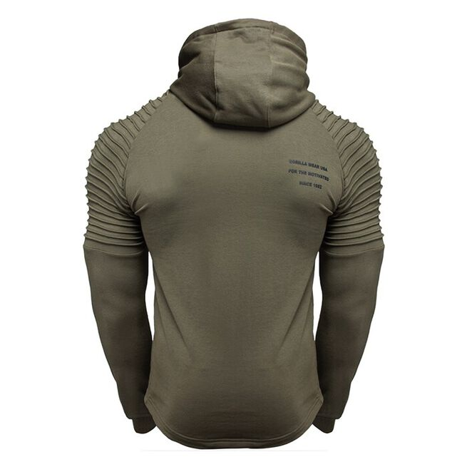 Delta Hoodie, Army Green, S
