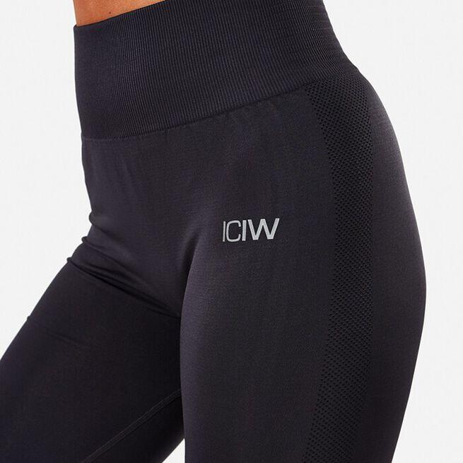 ICIW Define Seamless Tights, Graphite, L