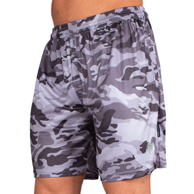 Gorilla Wear Kansas Shorts black/grey camo