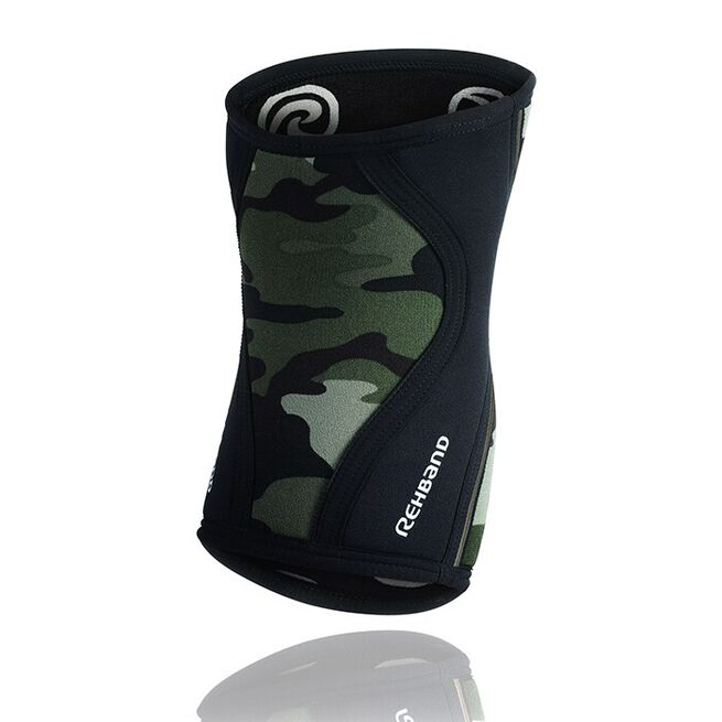 RX Knee Sleeve, 7mm, Camo/Black, L