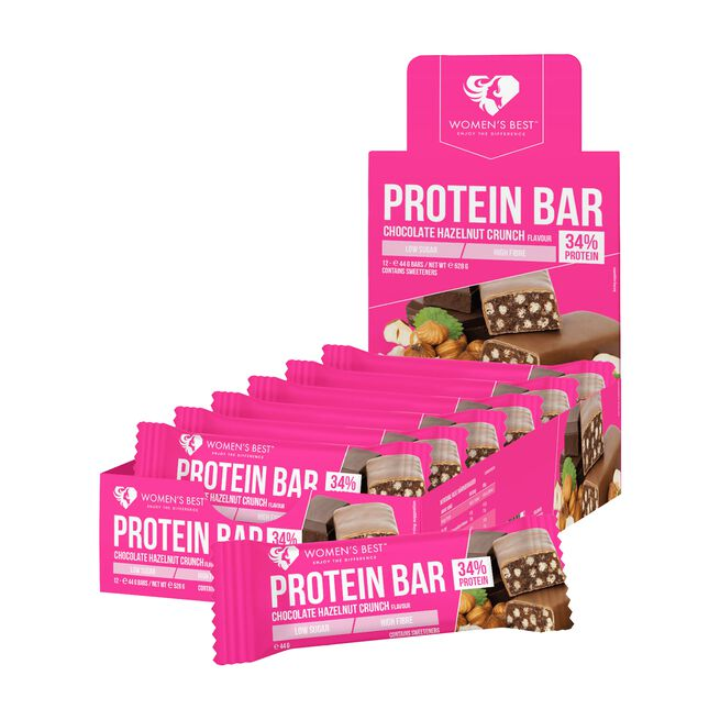 12 x Protein bar, 44 g, Chocolate Hazelnut