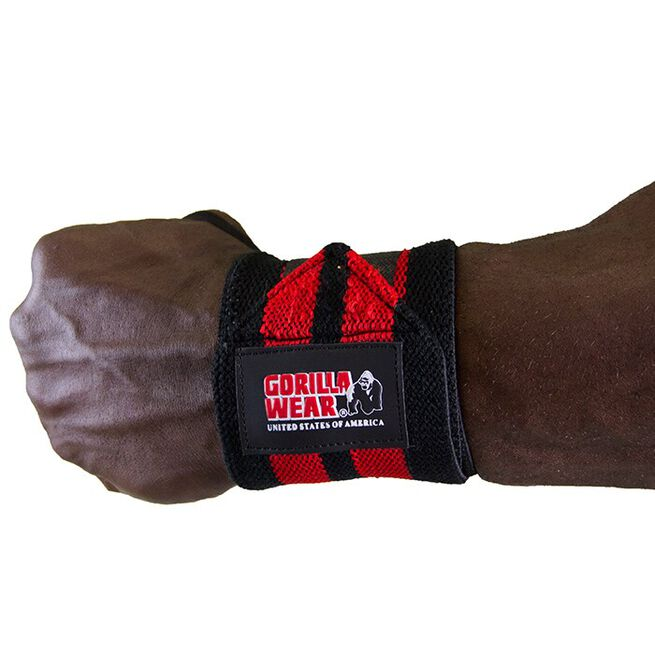 Wrist Wraps Pro, black/red