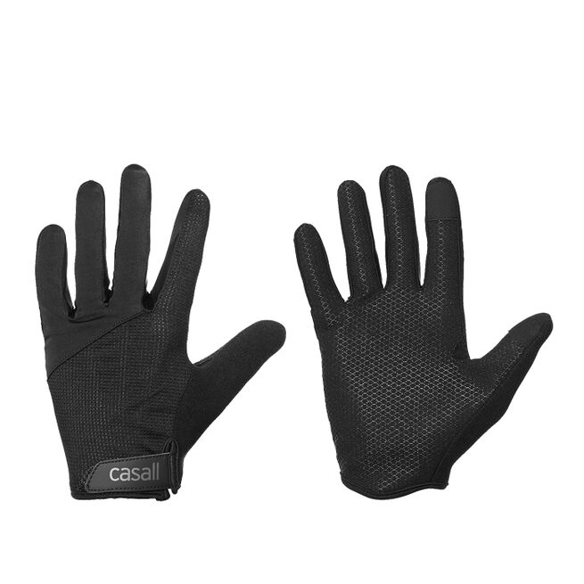 Casall Exercise Glove, Long fingers, Wmns, Black
