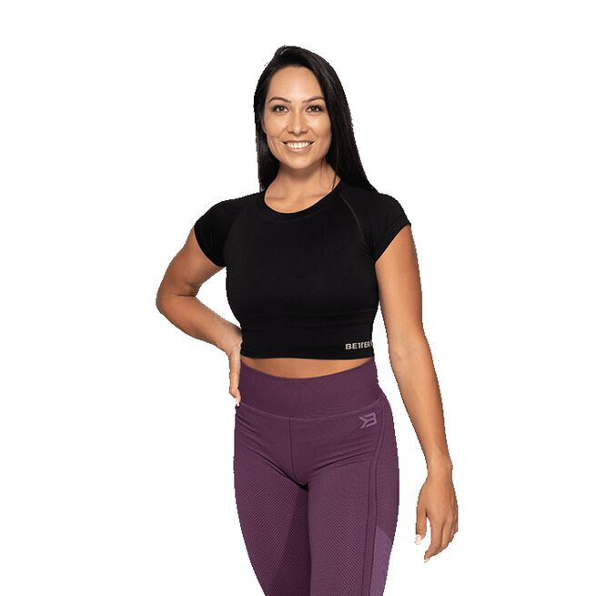 Better Bodies  Astoria Seamless Tee, Black