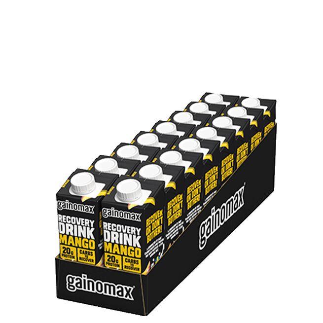 16 x Gainomax Recovery, 250 ml, Mango