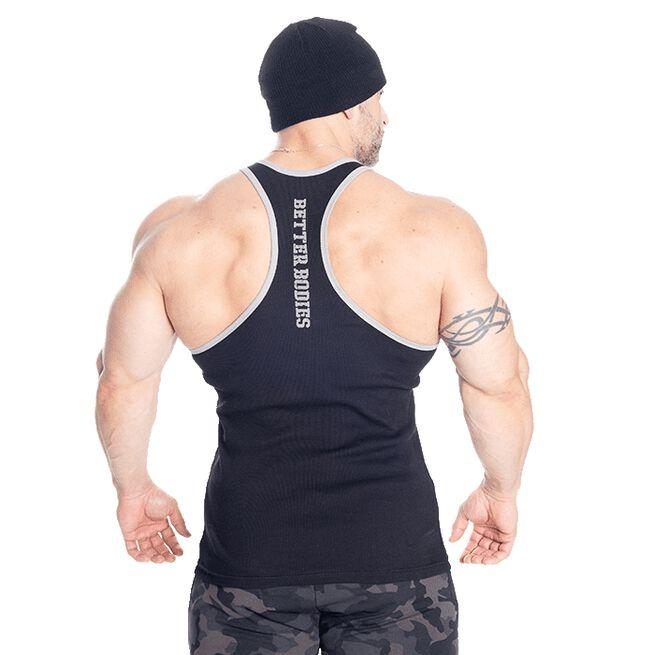 Jersey Rib T-back, Black, S