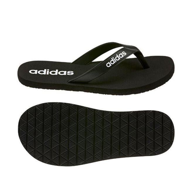 Adidas Eezay Flip-Flops, Black/White