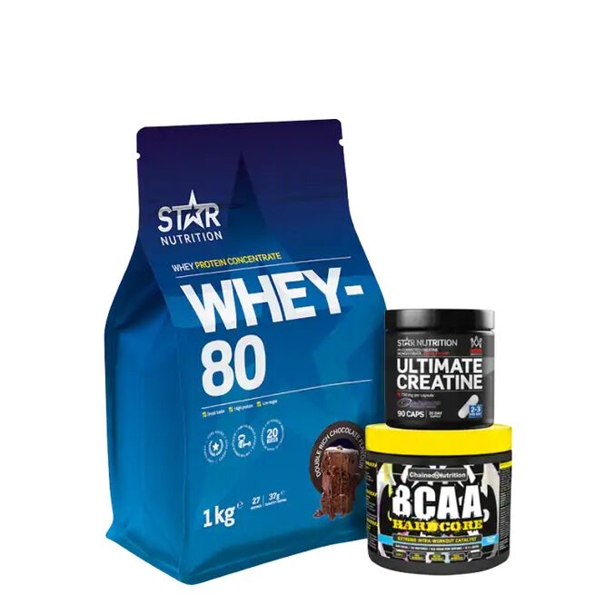 Star nutrition Chained Nutrition Muscle Buildning