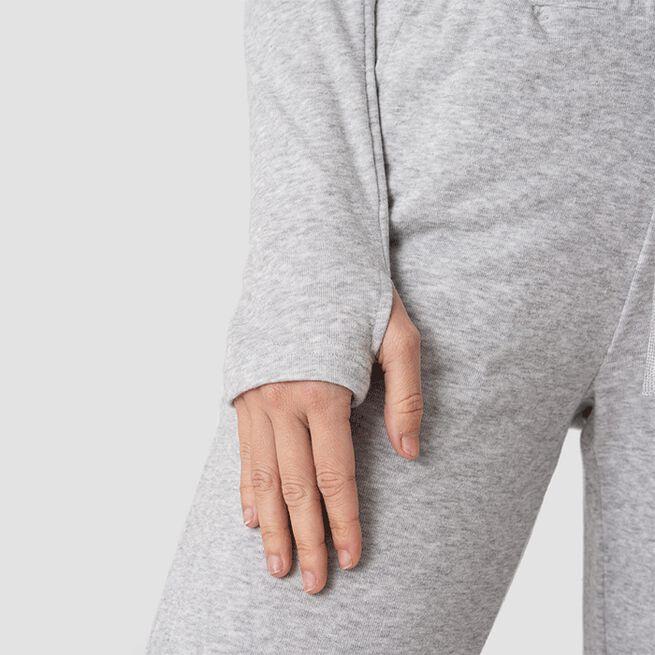 ICIW Deactivate Cropped Hoodie Grey Melange