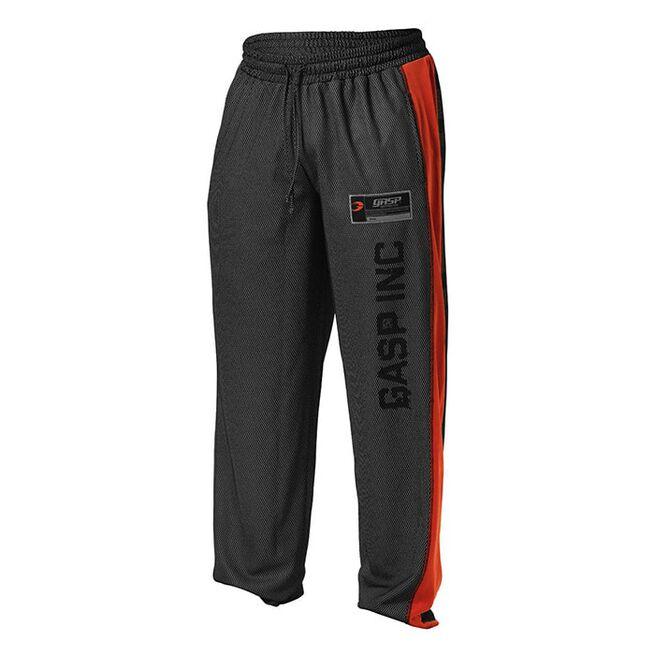 No 1 Mesh Pant, Black/Flame, S