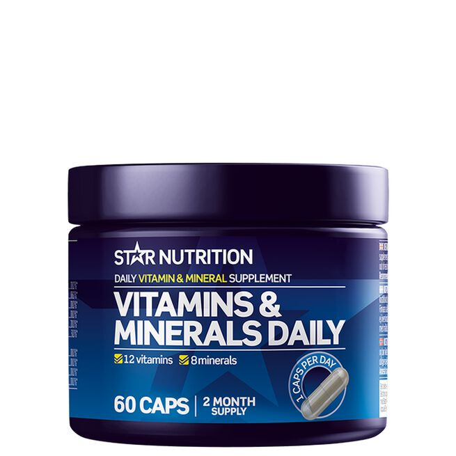 Star nutrition Vitamin minerals daily